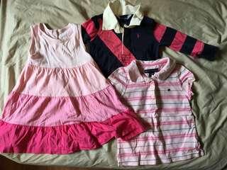 Baby girl branded bundle