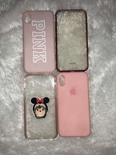 Assorted iphone x cases