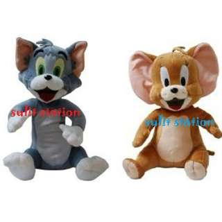 TOM & JERRY STUFFED PLUSH DOLL TOYS