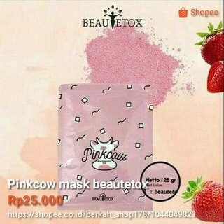 Pinkcow mask beautetox