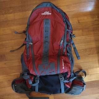 Campro Sports Xtreme 50lt backpack W/ rain cover