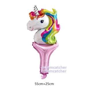 Magical Unicorn handheld balloon