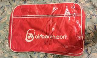 德國柏林航空(Air Berlin)復古設計肩包Air Berlin retro design shoulder bags