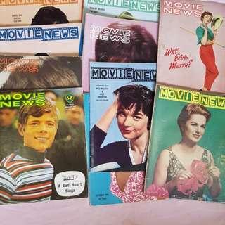 Vintage movie news magazine