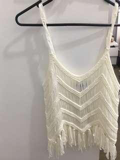 Sabo skirt white top