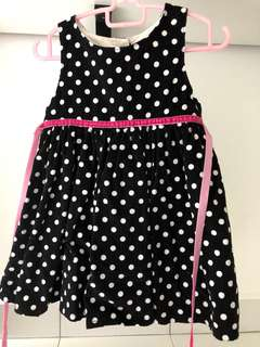 Baby Girl Dress Polkodot