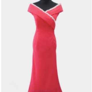 PINK GOWN - Gownforrent