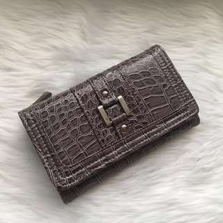 Cabrelli Gray Leather Wallet