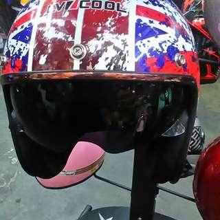 Helmat motor baru