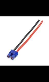 Amass EC3 Plug With 14AWG Soft Silicone Wire AM-9023 10cm Female