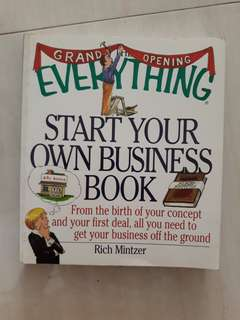 Start your own business book