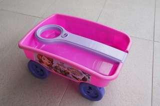 Sofia the first wagon