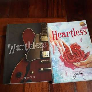 Wattpad books:Heartless&Worthless