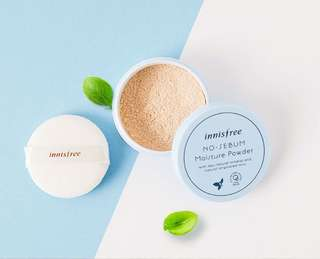 Innisfree No Sebum - Moisture Powder