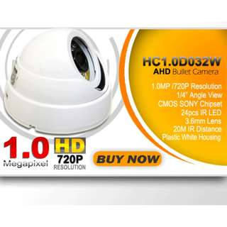 CCTV Camera (HC1.0D032W Smartwatch Dome AHD Camera)