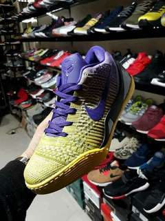KOBE 9 ELITE PURPLE AND YELLOW