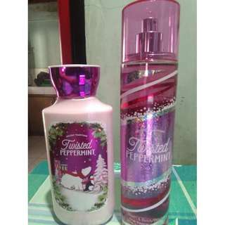 Twisted Peppermint Lotion & Perfume