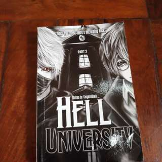 Wattpad books:Hell University