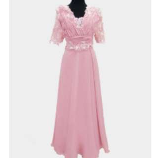 PINK GOWN - Gown For Rent