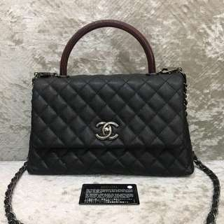 Authentic Chanel Coco Medium Flap Bag