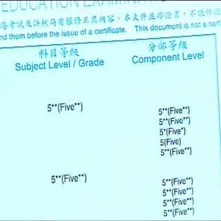 hkdse English 5** skills