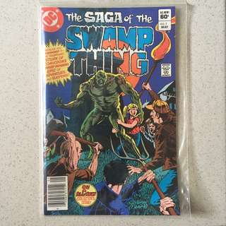 DC Swamp Thing #1 1982
