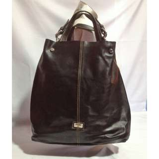 Authentic COBO Leather Tote Bag