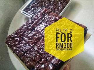 Brownies Buy 2 RM30