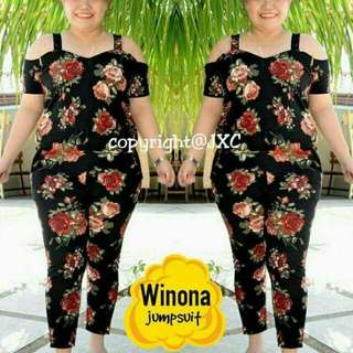 Winona Plus Size Jumpsuit
