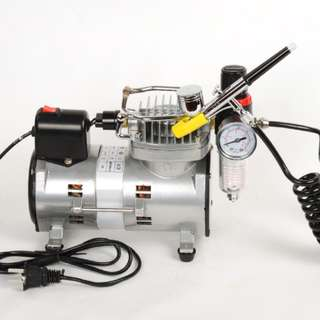 Available Now! not pre-order scams! brand new mini AGC airbrush compressor for hobby hobbyist