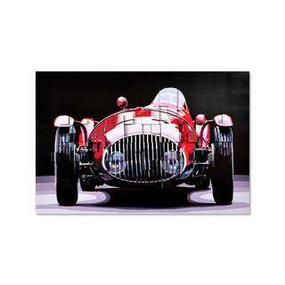 Red Classic F1 3D Art Canvas