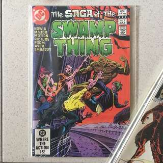 DC Swamp Thing #3 1982
