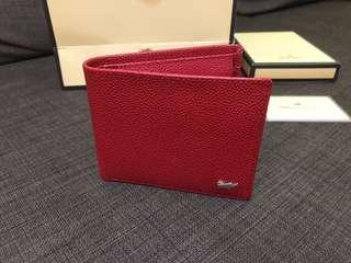 Red Braun Buffel Wallet