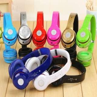 S460 Solo 2.0 Wireless Bluetooth Headset Headphone FM AUX MIC