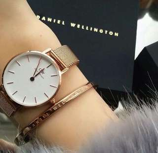 DW Classic Petite Melrose White