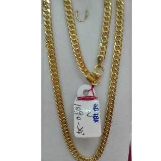 24 INCHES, 18K SPL SAUDI GOLD NECKLACE / CHAIN <<<