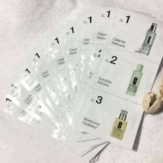 CLINIQUE 倩碧  【產品名稱】 三步驟基礎潔膚保濕型 旅行組 *10組