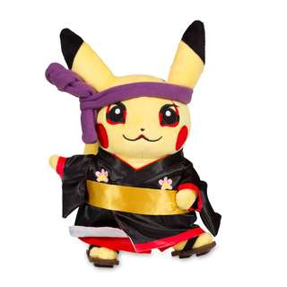 Around the World Kabuki Pikachu Poké Plush (Standard) - 9""