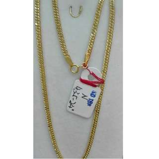 24 INCHES, 18K SPL SAUDI GOLD NECKLACE / CHAIN >><<