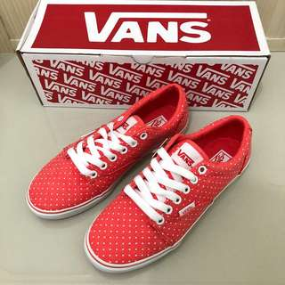 Vans Kress Washed Dots Coral/White