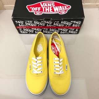 Vans Authentic Lo Pro Bright Yellow