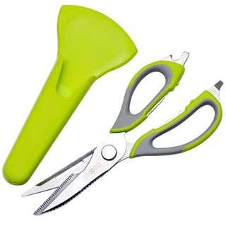 7 in 1 Multi Function Stainless Steel Kitchen Scissor