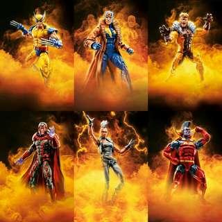 Marvel Legends X-men Apocalypse BAF wave 2018 pre sale
