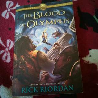 The Blood of Olympus Book5