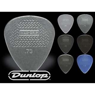 Jim Dunlop Nylon Max Grip 449 Guitar Picks Plectrums