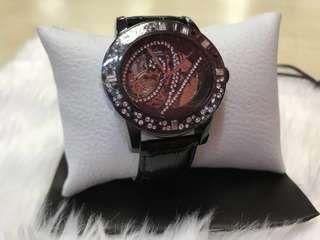 Authentic Violette leather watch