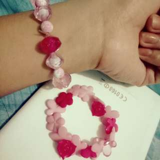 Pink kikay Bracelettes♥