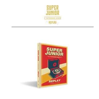 [PREORDER] Super Junior (슈퍼주니어) - 8TH Repackage / REPLAY