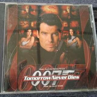 Cd 007 james bond orig soundtrack