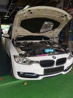 Bmw f30 cooling coil replacement